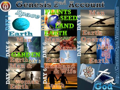 Bible Genesis Creation Account 2nd